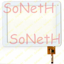 "Touch Screen ADJ Easy Tab 8 400-00003 8,0"" Vetro Digitizer Bianco"