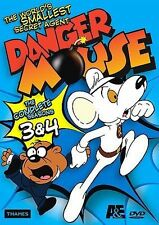 Danger Mouse - The Complete Seasons 3 & 4, Very Good DVD, Jimmy Hibbert, Brian T