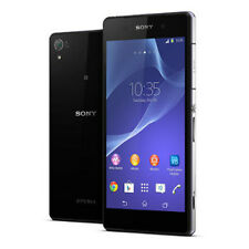 "Negro 5.2"" Sony Ericsson Xperia Z2 D6503 16GB 20.7MP 4G Libre Telefono Movil"