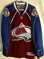 Reebok Premier NHL Jersey Colorado Avalanche Team Burgundy sz L