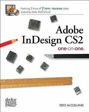 Adobe InDesign CS2 One-on-One McClelland, Deke Paperback