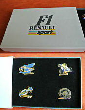 05058 PIN'S PINS ARTHUS BERTRAND RENAULT F1 WILLIAMS FORMULE 1 BOX BOITE