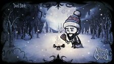 POSTER DON'T STARVE WILSON MAXWELL WILLOW WENDY WOLFGAN GAME DONT PS4 PS3 #1