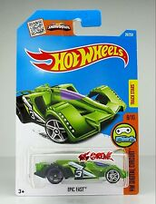 Hot Wheels 2016 #28 Epic Fast GREEN,2ND COLOR,FRONT-PR5,REAR OH5SP,WHITE BS,INTL