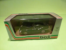 BOX MODEL 8439 JAGUAR E-TYPE COUPE - BLACK 1:43 - NMIB