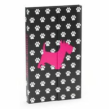 Juicy Couture Organizer Planner Limited Edition Scottie Dog Black/White NWT $20