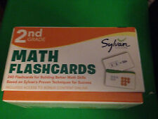 Second Grade Math Flashcards by Sylvan Learning (English)