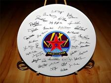 """Walk of Fame """"Hollywood"""" Signatures by Papel Korea Collection Plate"""