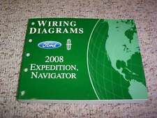 2008 Ford Expedition Electrical Wiring Diagram Manual XLT Eddie Bauer Limited