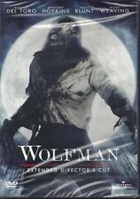 Dvd **WOLFMAN** Extended Director's Cut B. Del Toro Anthony Hopkins nuovo 2010
