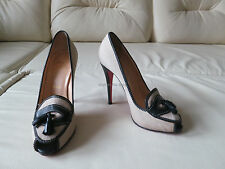 Christian Louboutin Alta Campus 120 Loafer Pumps Heels 38.5 8.5 8