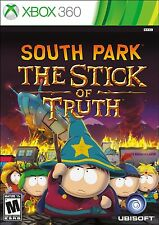 XBOX 360 SOUTH PARK THE STICK OF TRUTH VIDEO GAME BRAND NEW