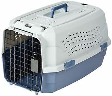 "23"" Two Door Top Load Pet Kennel Travel Crate Carrier Dog Puppy Cat Kitten Small"