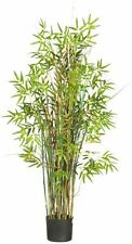 Nearly Natural 6569 Bamboo Grass Silk Plant- 5-Feet- Green NEW