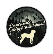 A_JGH Auto Aufkleber BAYERISCHER GEBIRGSSCHWEISSHUND Jagdhund Hunde SIVIWONDER