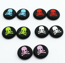10 x Skull and Bones Silicone Thumb Stick Grips for XBOX ONE / 360, PS3 and PS4