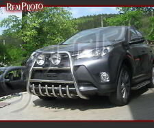 TOYOTA RAV4 MK4 2013+ HIGH BULL BAR, NUDGE BAR, A BAR + GRATIS! STAINLESS STEEL