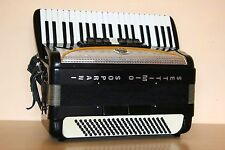 Settimio Soprani 120 Bass LMM Accordion Akkordeon Fisarmonica Black