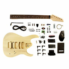 Electric Guitar DIY Kit Heavy Metal Style - Unfinished Project Luthier