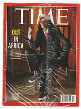 news magazine TIME June 15 2015 OUT IN AFRICA Blisterato da abbonamento