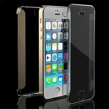 COQUE SILICONE GEL INTEGRAL iPHONE 4 4S TRANSPARENT CLIPSABLE FULL PROTECTION