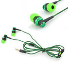 Green 3.5mm In-ear Headphone Stereo Earbuds Earphone Headset for iPhone New
