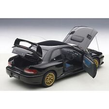 Autoart SUBARU IMPREZA 22B BLACK UPGRADED VERSION Limited Ed of 1500 1/18 New!