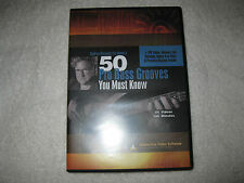 "Stu Hamm ""50 Pro Bass Grooves You Must Know""  Instructional Computer DVD - Mint!"