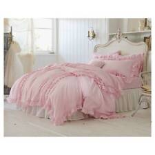 Simply Shabby Chic Vintage Pink Ruffle Twin duvet cover Set Rachel Ashwell Girl
