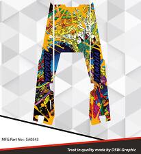 SLED GRAPHIC KIT TUNNEL GRAPHICS WRAP FOR YAMAHA VIPER 2014 2015 2016 SA0543