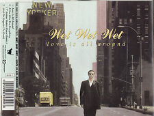 WET WET WET Love Is All Around CD Single