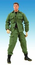 "Stargate SG1 Cameron Mitchell 12"" Cloth Action Figure Sold Out New MIB Mint"
