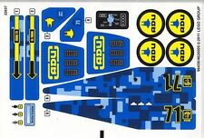 LEGO 7066 - Alien Conquest - Earth Defense HQ (Sheet 2) - STICKER SHEET