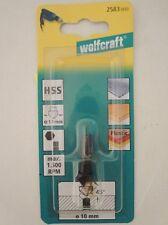 Wolfcraft Senker HSS Ø 10 mm Holz Aluminium Kunststoff 2583