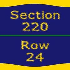 1-4 Detroit Red Wings vs. Tampa Bay Lightning Tickets 3/24/17 Joe Louis Arena