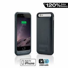 Naztech iPhone 6 , 6s 2400 mAh MFi Apple Certified Portable Battery Charger Case