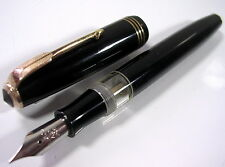 STYLO PLUME PLEXOR NOIR ANCIEN DE COLLECTION VERS 1950