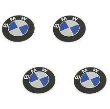 4 GENUINE Wheel Center Emblem Sign Logo Hub Cap Set for BMW 1 3 5 6 7 Series