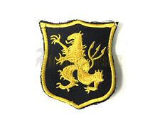 NSWDG Gold Team Lion Patch (Gold Black) Devgru AOR1 AOR2 Navy Seals mbss lbt