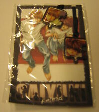 SAIYUKI RELOAD segnalibro bookmark with metal pendants Goku/Sanzo Minekura RARE