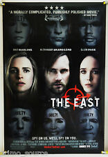THE EAST DS ROLLED ADV ORIG 1SH MOVIE POSTER BRIT MARLING ELLEN PAGE (2013)