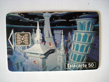 PHONECARD TELECARTE FRANCE TELECOM PARC EURO DISNEYLAND THE WORLD CHORUS PISE