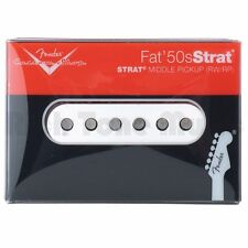 New Fender Custom Shop Fat 50s Strat Middle Pickup RWRP USA +Free Gifts