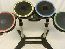 Nintendo Wii Rock Band 3 Drum Set Stand & Pedal Wireless Pro Drums
