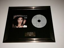 PERSONALLY SIGNED/AUTOGRAPHED NATALIE IMBRUGLIA - MALE FRAMED CD PRESENTATION.
