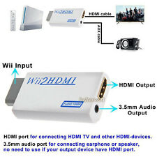Wii to HDMI Wii2HDMI HD Output Converter Adapter for Game Audio Output Upscaling