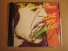 2-CD / THE ROLLING STONES - LOVE YOU LIVE