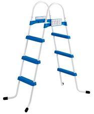 Wehncke 17426 Pool-Leiter Einstiegsleiter für Pool mit 3 Stufen 107cm
