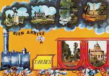 TARBES bien arrivé à multivues timbrée 1975