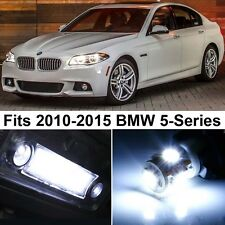 20 x Premium Xenon White LED Lights Interior Package Upgrade for BMW 5 Series
